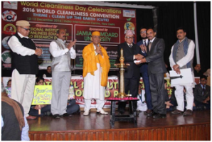 B.Tech. computer science engineering professor received clean and green university campus award