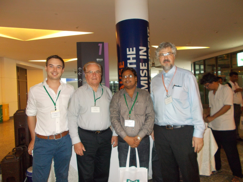 Dr. Neelesh Rai presented a research paper in International Conference held at NU (Singapore)