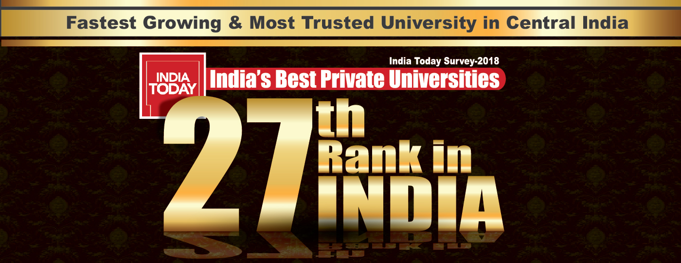 AKS University 27th Rank In India, 2018