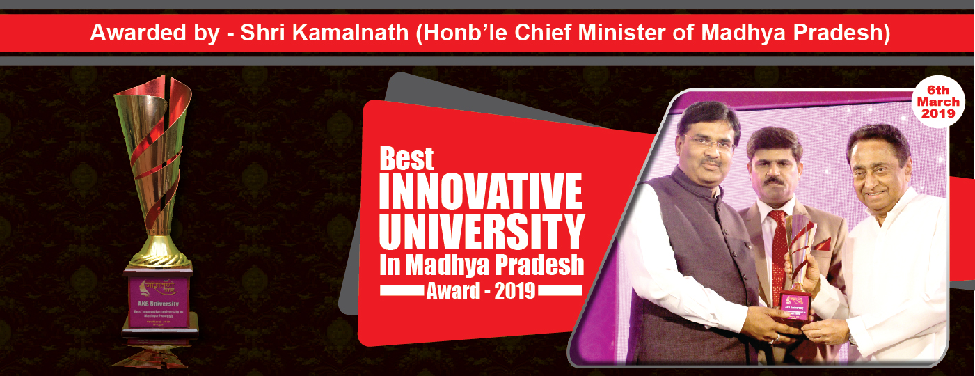 Best Innovation university 2019 AKS University