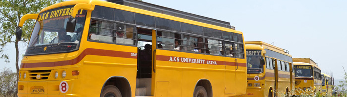 Transport facility in aks university